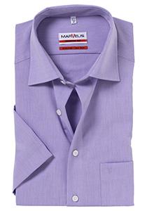 MARVELIS Modern Fit, overhemd korte mouw, lila