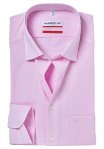 MARVELIS Modern Fit overhemd, roze