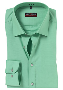 MARVELIS Body Fit overhemd, licht groen
