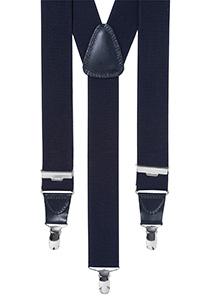 Bretels breed, blauw