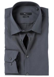 Venti Modern Fit overhemd, mouwlengte 72, antraciet