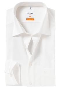 OLYMP Modern Fit overhemd, mouwlengte 7, beige