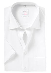 OLYMP AirCon Comfort Fit, overhemd korte mouw, wit