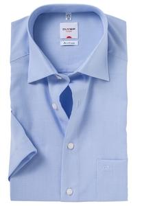 OLYMP AirCon Comfort Fit overhemd korte mouw, licht blauw