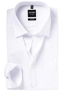 OLYMP Level 5 overhemd, mouwlengte 7, wit