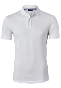 Profuomo Slim Fit polo, wit