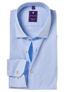 Redmond Slim Fit overhemd, licht blauw