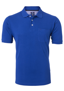 Redmond Regular Fit poloshirt, kobalt blauw