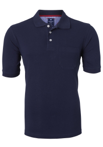 Redmond Regular Fit poloshirt, marine blauw