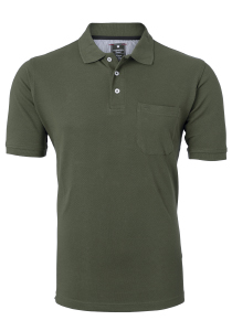 Redmond Regular Fit poloshirt, donkergroen