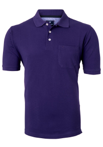 Redmond Regular Fit poloshirt, paars