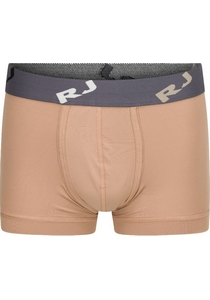 RJ Bodywear Pure Color, heren trunk, zand (micro)