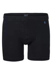 Schiesser Long Life Cotton boxershort (long), zwart