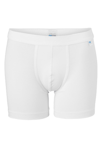Schiesser Long Life Cotton boxershort (long), wit