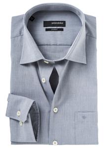 Seidensticker Modern Fit overhemd, grijs
