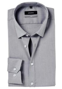 Seidensticker X-Slim overhemd, grijs