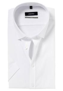 Seidensticker X-Slim overhemd, korte mouwen, wit