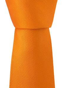Oranje stropdas uni