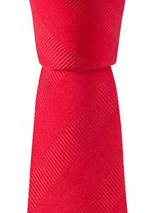 Smalle stropdas, rood