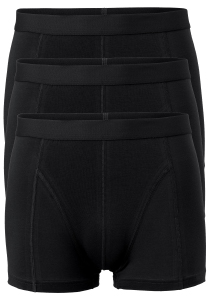 ACTIE: Ten Cate Basics heren boxers (shorty), 3-pack, zwart