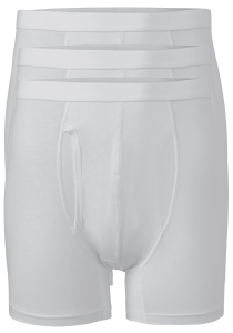 ACTIE: Ten Cate Basics heren boxers, 3-pack, wit