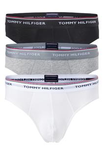 Tommy Hilfiger slips (3-pack), wit, zwart, grijs