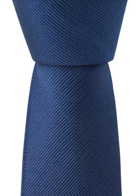 Marine blauwe stropdas