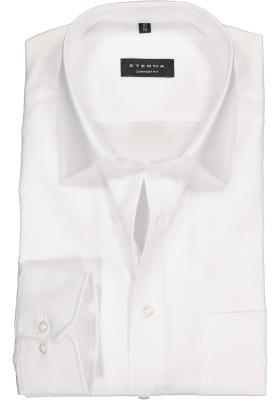 ETERNA comfort fit overhemd, poplin heren overhemd, wit