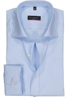 ETERNA Modern Fit overhemd, blauw