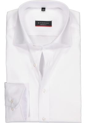 ETERNA modern fit overhemd, poplin heren overhemd, wit