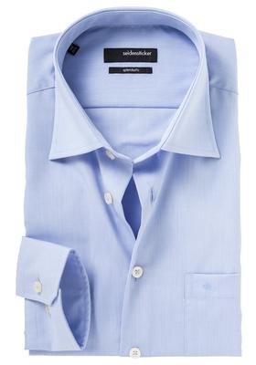 Seidensticker Regular Fit overhemd, lichtblauw