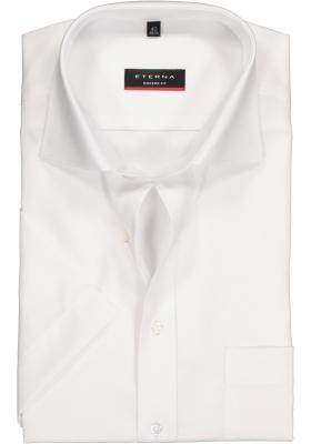 ETERNA modern fit overhemd, korte mouw, poplin heren overhemd, wit