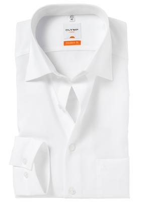 OLYMP Modern Fit overhemd, wit