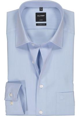 OLYMP Luxor modern fit overhemd, lichtblauw