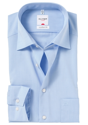OLYMP Comfort Fit overhemd, licht blauw
