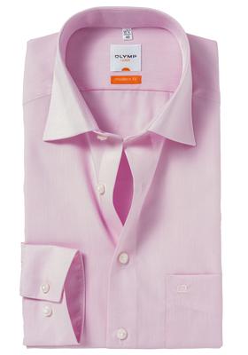 OLYMP Modern Fit overhemd, roze