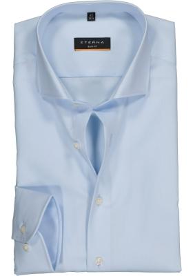 ETERNA slim fit overhemd, poplin heren overhemd, lichtblauw