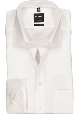 OLYMP Luxor modern fit overhemd, beige of off white
