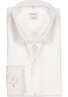 Seidensticker shaped fit overhemd, wit