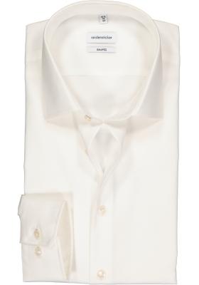 Seidensticker Shaped Fit overhemd, beige