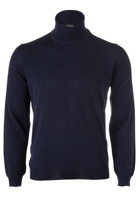OLYMP heren coltrui wol, marine blauw