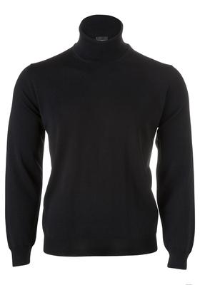 OLYMP modern fit coltrui wol, zwart
