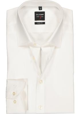 OLYMP Level 5 body fit overhemd, beige