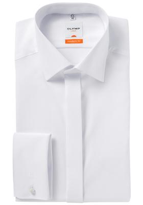 OLYMP Modern Fit Smoking overhemd, gladde stof  (kent kraag)