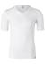 SCHIESSER 95/5 heren T-shirt (2-pack), V-hals, wit