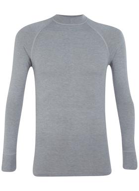 RJ Bodywear, thermo T-shirt lange mouw, grijs