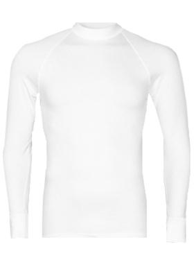 RJ Bodywear, thermo T-shirt lange mouw, wit