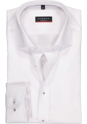 ETERNA Modern Fit overhemd, wit fijn Oxford