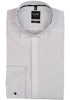 OLYMP Level 5 Smoking overhemd, gladde stof (wing)