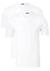 Schiesser American T-shirts V-hals 2-pack, wit